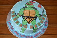 Ninja Turtle Cake Photo Ninja Turtle Birthday Cake, Birthday Cake Decorating, Ninja Turtles, Tmnt, Cooking Recipes, Turtle Cakes, Birthday Stuff, Desserts, Party Ideas