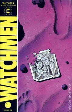 Watchmen (1986) 4 original dc comic book series