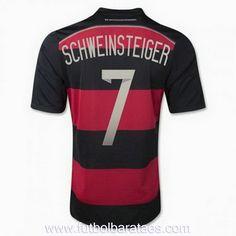 Nueva camiseta de Schweinsteiger 2nd Alemania