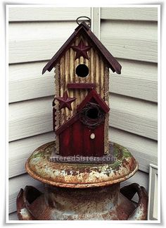 Cannot get enough birdhouses in my garden. I love this one.