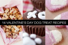Treat your furry Valentine to something special this year by whipping up one of these easy DIY dog treat recipes!