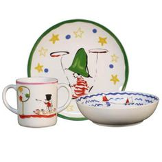 Raynaud Le Petit Cuisinier Gourmand Baby Dishes | Gracious Style