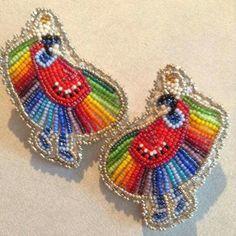 Earrings by woodro roandashian