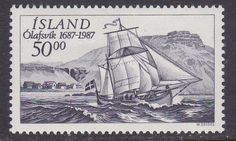 Iceland 1987 stamp
