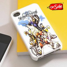 Kingdom Hearts 2  iPhone 4S case iPhone 5S case by RogohSukmo, $5.00