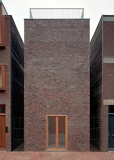 Rapp & Rapp - Sporenburg single-family houses, Amsterdam 2001. Photos © Kim Zwarts.