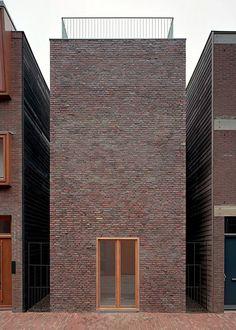 Rapp & Rapp - Sporenburg single-family houses, Amsterdam 2001. Photos © Kim Zwarts.