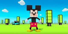 Crossy Road protagonizado por las figuras de Disney http://j.mp/1VdbTAW |  #CrossyRoad, #Disney, #Flogger, #JuegosMóviles, #Noticias, #Tecnología
