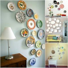 mmmcrafts corners of my house foyer plate wall & Creating a Decorative Plate Wall | Pinterest | Plate wall Walls and ...