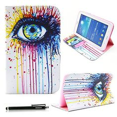 Samsung Galaxy Tab 3 Lite Case, HAOCOO Stylish Art Printed PU Folio Leather Stand Protective Case with Card Slots for Samsung Galaxy Tab 3 Lite 7.0 SM-T110 / T111 7.0 Inch Android Table (Colorful Eye) Haocoo http://www.amazon.com/dp/B00V7VO7SW/ref=cm_sw_r_pi_dp_VMpxwb048XMJ4