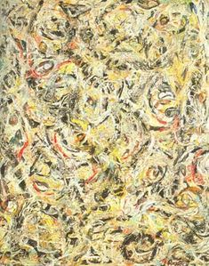 Jackson Pollock, Eyes in the Heart Fine Art Reproduction Oil Painting