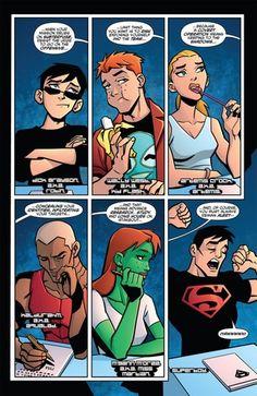 batman's lesson - young-justice Fan Art