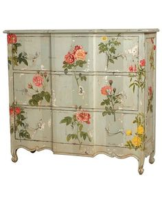 ambiancechateau  Decoupage Is Simple! Update Your Kids Furniture thekidsroomdecor.com
