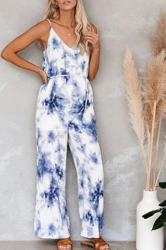 The maternity crack tie dye jumpsuit  with sleeveless is fashionable you may like it. #tiedyedressoutfit #tiedyedressoutfitsummer #tiedyedressoutfitfashion #tiedyefashion2020 #tiedyeshirts Maternity Jumpsuit, Casual Jumpsuit, Tie Dye Shirts, Tie Dye Dress, Fashion 2020, Jumpsuits For Women, Fashion Outfits, Rompers, Fashion Styles