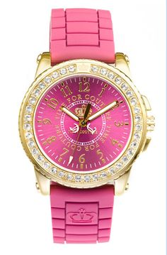 #pink and gold #watch by J Couture