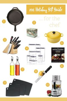 Holiday Gift Guide: For the Chef