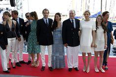 Beatrice, Pierre, Gad, Charlotte, Andrea, Tatiana, Albert, Charlene, Alexandra, Caroline