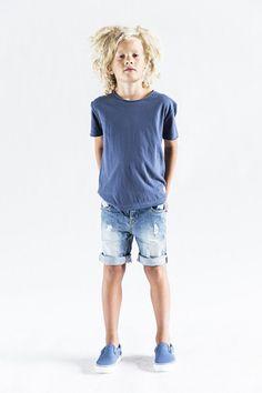 COMO Tee, I Dig Denim, t-shirt med rå kant, T- skjorte med rå kant, sommerklær til tenåringer, klær til ungdom, clothes to teens, clothes to tweens | Ask'n Foyn