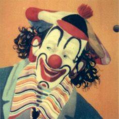 "Clown - SX-70 Polaroid 5"" x 5""  Photograph by forestlight for $10.00  http://www.zibbet.com/forestlight/artwork?artworkId=518028"