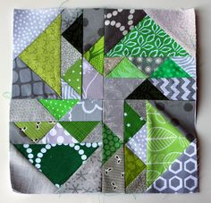 Welcome to this weeks installment of Paper Piecing Monday. This week I add another block to my grey/bright sampler quilt from Julie at 627handworks. May I present my version of Marley... Now I a...