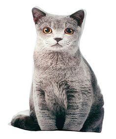 Love this Gray Feline Doorstop on #zulily! #zulilyfinds