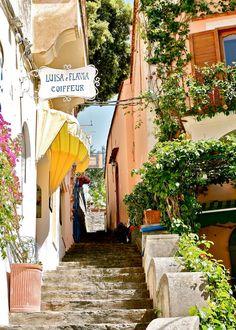 Streets of Positano, Italia
