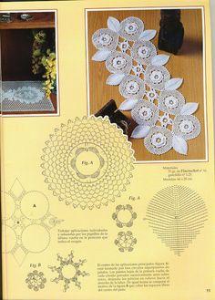 Tischläufer Häkeln Für Anfänger Luftmaschen Häkeln Netz