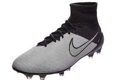 fa8a8f7b4bd7 Nike Magista Obra FG Soccer Cleats - Leather - Light Bone   Black -  SoccerPro.com