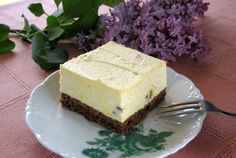 Straccatella kocky s kúskami čokolády Oreo Cheesecake, Food And Drink, Oreo Cheese Cakes