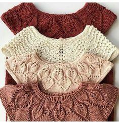 Kids | knitting | Liliya Yakimova.orgu on Instagram (@strikkingvild )  #Instagram #Kids #Knitting #Liliya #strikkingvild #Yakimovaorgu Baby Knitting Patterns, Knitting For Kids, Knitting Projects, Crochet Patterns, Arm Knitting, Stitch Patterns, Crochet Baby, Knit Crochet, Knitted Baby Clothes