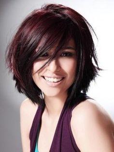 2012 magenta hair highlights
