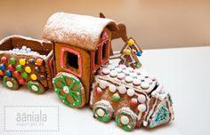 Gingerbread train Christmas Calendar, Diy Christmas, Gingerbread Train, Trains, Blog, Blogging, Train