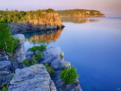landscapes lake huron ontario canada Beautiful World, Beautiful Places, Beautiful Scenery, Beautiful Landscapes, Voyage Canada, Lake Baikal, Lake Huron, Pictures Of The Week, Amazing Pictures