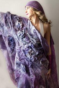 silk gauze, organza, wool, raw silk, natural dyes logwood and cochineal, fabric…
