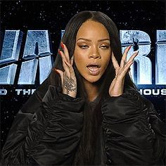 Rihanna talking about her new movie Valerian Rihanna Face, Rihanna Fenty, Stupid Memes, Funny Memes, Current Mood Meme, Black Girl Aesthetic, Mood Pics, Bad Gal, Meme Faces