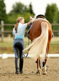 nothing like a girl and her horse <3