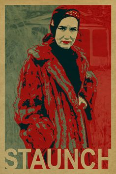 Little Edie is a STAUNCH character! Grey Gardens poster. Kraft paper. Edith Bouvier Beale. Print.  O'Bama. Campy