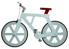 cardboard bicycle | costs less than £10 to manufacture