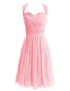Diyouth Beauty Short Chiffon Strapless Bridesmaid Dress Pink Size 2 Diyouth http://www.amazon.com/dp/B00LQMRW6Q/ref=cm_sw_r_pi_dp_Z1wnub1XJP0WS