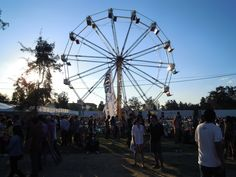 Ferris wheel at Festival Corona Capital 2012.