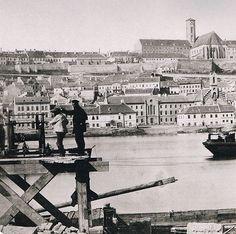 Jpg, Egy Nap, Budapest Hungary, Vintage Ads, Old Photos, Big Ben, Black And White, Landscape, History