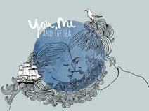 "A3 Poster ""You, me and the sea"""