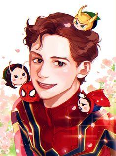 Spider-Man || Mantis, Dr. Strange & Loki || Cr: 쩜오