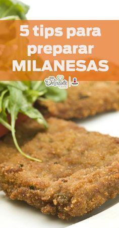 Vas a preparar las milanesas más crujientes y ricas de todas. Cooking 101, Easy Cooking, Cooking Recipes, Barbecue Recipes, Beef Recipes, Chicken Recipes, Appetizer Recipes, Snack Recipes, Healthy Recipes