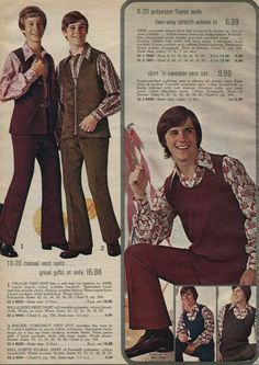 1970s Teens | 1970s Fashion for Men & Boys | 70s Fashion Trends, Photos & Styles
