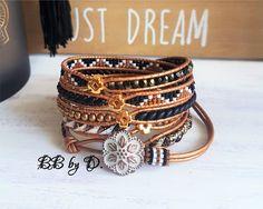 Bracelets for Women – Fine Sea Glass Jewelry Bracelet Wrap, Cuff Bracelets, Hippie Style, Alex And Ani Necklaces, Yoga Mala, Sea Glass Jewelry, Leather Cord, Polymer Clay, Bronze