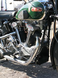 1934 BSA J34-11 500cc Ohv V-Twin Motorcycle Engine, Motorcycle Art, Motorcycle Design, Bike Art, Antique Motorcycles, American Motorcycles, Triumph Motorcycles, Scooters, Bike Engine
