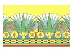 egyptian decorative art - Google Search
