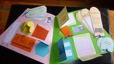 Pages intérieures du lapbook sur l'Egypte Antique (décembre 2010). www.carpediem.asso.fr