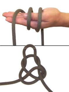 Wireman's Knot from the U.S. Army Military Mountaineering manual FM 3-97.61 http://www.fas.org/irp/doddir/army/fm3-97-61.pdf